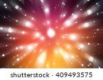 christmas orange background... | Shutterstock . vector #409493575