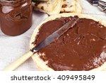 sweet food dessert breakfast...   Shutterstock . vector #409495849