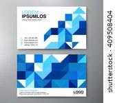 modern business card design... | Shutterstock .eps vector #409508404