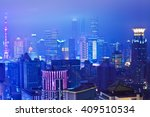 aerial photography at city... | Shutterstock . vector #409510534