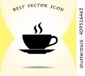 coffee cup sign icon  vector... | Shutterstock .eps vector #409516465