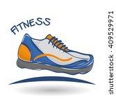 flat illustration of healthy... | Shutterstock .eps vector #409529971
