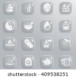 spa simply symbol for web icons ...   Shutterstock .eps vector #409538251
