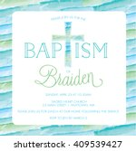 baptism invitation free vector art 6543 free downloads