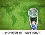 sustainable world environment ... | Shutterstock . vector #409540834