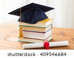 education  school  graduation... | Shutterstock . vector #409546684