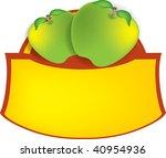 vector illustration of green... | Shutterstock . vector #40954936