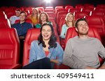 cinema  entertainment and... | Shutterstock . vector #409549411