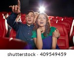 cinema  entertainment and... | Shutterstock . vector #409549459