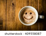 happy coffee | Shutterstock . vector #409558087