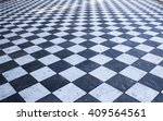 Dirty Street Floor Of Black An...