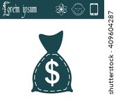 bag with money icon