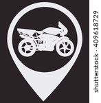 gps with wifi icon.gps with...   Shutterstock .eps vector #409618729