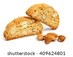 italian cantuccini cookie with... | Shutterstock . vector #409624801