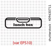lunch box icon.