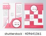 business brochure. brochure... | Shutterstock .eps vector #409641361