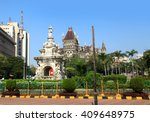 beautiful flora fountain in the ... | Shutterstock . vector #409648975