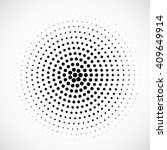 abstract dotted vector... | Shutterstock .eps vector #409649914