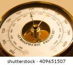 atmospheric pressure of a... | Shutterstock . vector #409651507
