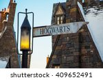 The Intersection Of Hogwarts...