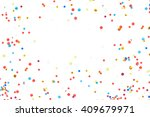 Colorful Confetti In Front Of...