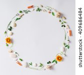 creative arrangement made of... | Shutterstock . vector #409686484