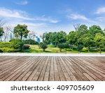 cityscape under the blue sky... | Shutterstock . vector #409705609