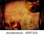 Grunge film and reels - stock photo