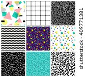 abstract seamless geometric... | Shutterstock .eps vector #409771381