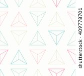 seamless pattern with colorful  ... | Shutterstock .eps vector #409778701