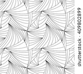 black and white abstract... | Shutterstock .eps vector #409802899