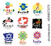 Logos In Different Countries. ...