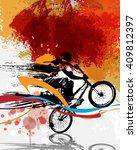 sport vector illustration | Shutterstock .eps vector #409812397