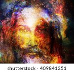 jesus christ painting with
