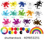 fun with colors | Shutterstock .eps vector #409853251