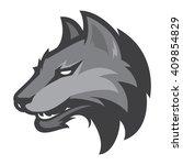 wolf sport logotype | Shutterstock .eps vector #409854829