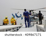 Small photo of Khonkean province, Thailand- April,2016 : emergency aeromedical evacuation training