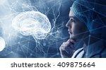 innovative technologies in... | Shutterstock . vector #409875664