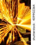 spot welding industrial... | Shutterstock . vector #409902364