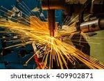 industrial welding automotive... | Shutterstock . vector #409902871
