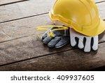 standard construction safety... | Shutterstock . vector #409937605