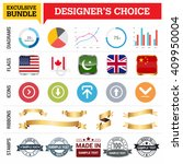 exclusive designer's choice...   Shutterstock .eps vector #409950004