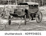 An Old Horse Drawn Buggy...