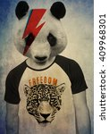 Vintage Animal Tee Graphic...