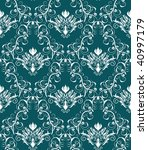 damask seamless vector... | Shutterstock .eps vector #40997179