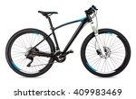 Black Blue Mountain Bike...