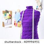 mannequin in office | Shutterstock . vector #409996951