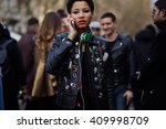 milan  italy   february 25 ... | Shutterstock . vector #409998709