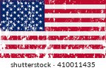 unusual usa flag. vector image  | Shutterstock .eps vector #410011435