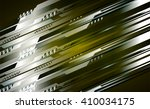 yellow silver abstract hi speed ... | Shutterstock .eps vector #410034175